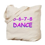 5-6-7-8 Dance Tote Bag