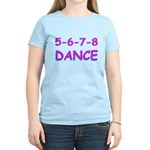 5-6-7-8 Dance Women's Light T-Shirt