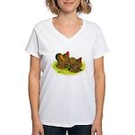 GL Cochin Bantams Women's V-Neck T-Shirt
