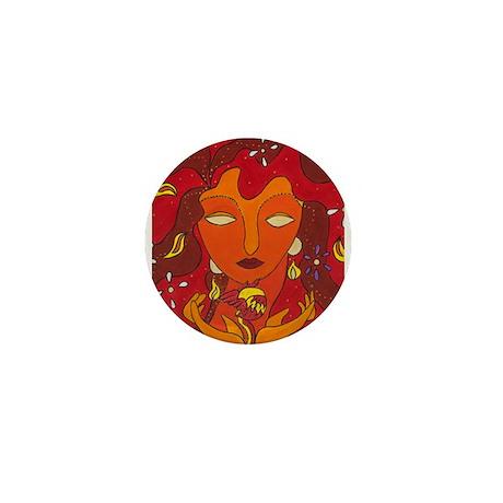 Fire Elemental Mini Button (10 pack)
