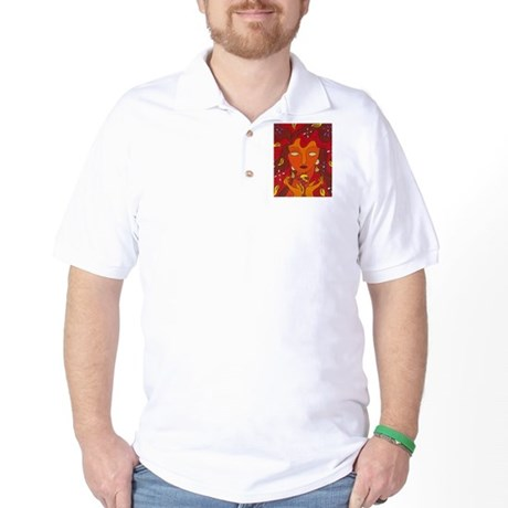 Fire Elemental Golf Shirt