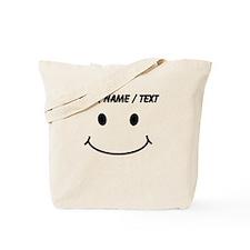 Custom Smiley Face Tote Bag