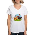 All American Trio Women's V-Neck T-Shirt