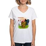 Cochins Trio Women's V-Neck T-Shirt