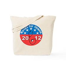 Nurses For Obama 2012 Tote Bag