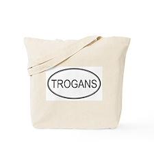Oval Design: TROGANS Tote Bag