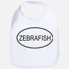 Oval Design: ZEBRAFISH Bib