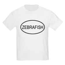 Oval Design: ZEBRAFISH Kids T-Shirt