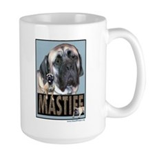 Mornings start w/a big Mastiff Kiss Mug