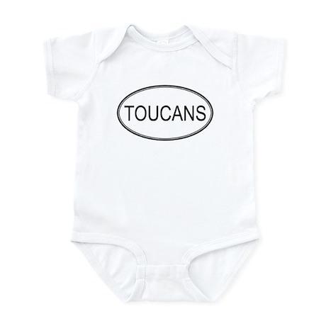 Oval Design: TOUCANS Infant Bodysuit