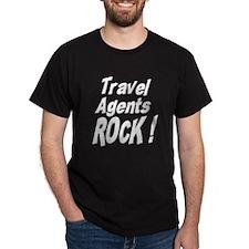 Travel Agents Rock ! T-Shirt