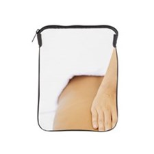 man getting a back massage from a mass iPad Sleeve