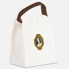 Aphra Behn White Canvas Lunch Bag