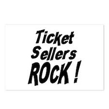 Ticket Sellers Rock ! Postcards (Package of 8)