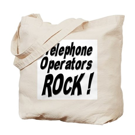 Telephone Operators Rock ! Tote Bag