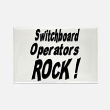 Switchboard Operators Rock ! Rectangle Magnet (100