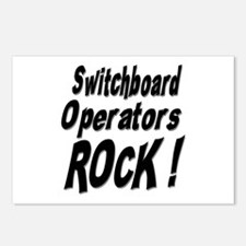 Switchboard Operators Rock ! Postcards (Package of