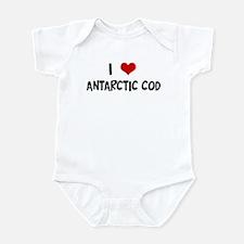 I Love Antarctic Cod Infant Bodysuit