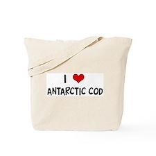 I Love Antarctic Cod Tote Bag
