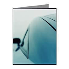 Audi TT 2000 car, rear view  Note Cards (Pk of 20)