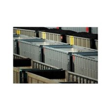Freight trains - Marysville Rectangle Magnet