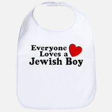 Everyone loves a Jewish Boy Bib