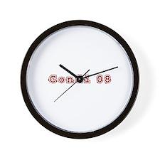 Condi '08 Wall Clock