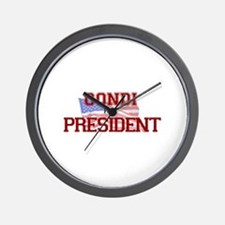 Condi for President Wall Clock
