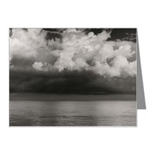 Still water and clouds Note Cards (Pk of 20)