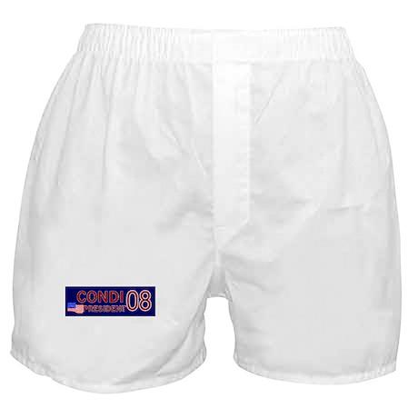 Condi for President in '08 Boxer Shorts