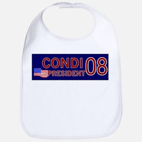 Condi for President in '08 Bib