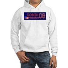Condi for President in '08 Hoodie