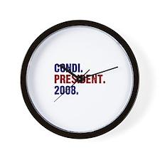 Condi. President. 2008. Wall Clock