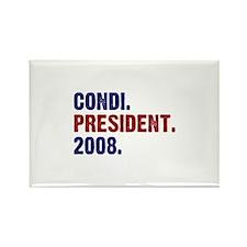 Condi. President. 2008. Rectangle Magnet (10 pack)