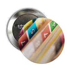 """Close-up of hospital patient records 2.25"""" Button"""