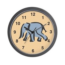 Elephant Wall Clock: Plain Elephant