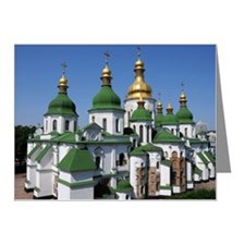 St. Sofia Cathedral in Kyiv, Note Cards (Pk of 20)