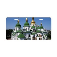 St. Sofia Cathedral in Kyiv Aluminum License Plate