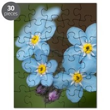 Beautiful blue Forget-me-not Puzzle