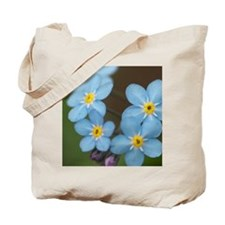 Beautiful blue Forget-me-not Tote Bag