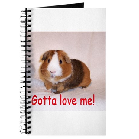 Guinea Pig Love Me Journal