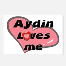 aydin loves me  Postcards (Package of 8)