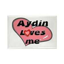 aydin loves me Rectangle Magnet