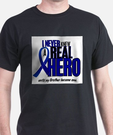 Never Knew A Hero 2 Blue (Brother) T-Shirt