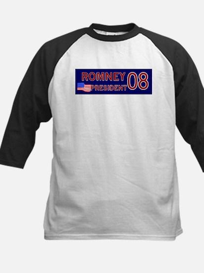 Romney for President in '08 Kids Baseball Jersey