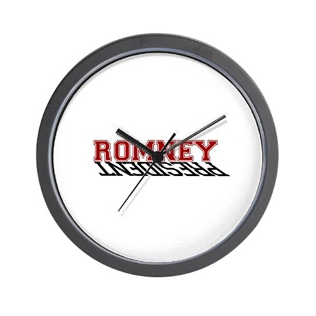 Romney is the President Wall Clock