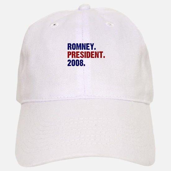 Romney. President. 2008. Baseball Baseball Cap