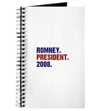 Romney. President. 2008. Journal