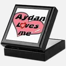 aydan loves me Keepsake Box