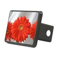 Three flowers Rectangular Hitch Cover